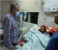 تعافي 23 شخصا من مصابي أتوبيس القصير - سفاجا