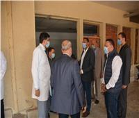 محافظ الدقهلية يتفقد اعمال التطوير بمستشفى المنصورة الدولي