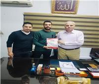 أحمد حسن مكي ينضم للإنتاج الحربي