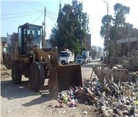 رفع 18 ألف طن قمامة من شوارع المنوفية