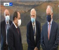فيديو| السيسي لـ«تاسولاس»: نشكركم على إيصال صوت مصر لبرلمانات أوروبا