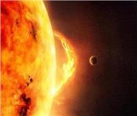 الأقمار الصناعية ترصد بقعة على الطرف الجنوبي الشرقي من سطح الشمس