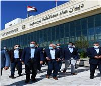 رئيس الوزراء يتفقد المنطقة الصناعية في بورسعيد