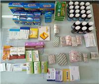 ضبط 1373 عبوة دوائية منتهية الصلاحية بمحافظة الشرقية