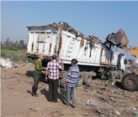 محافظ الشرقية: نقل القمامة إلى المدفن الصحي