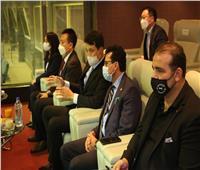 وزير الرياضة يشهد مباراة المنتخب الأوليمبي أمام كوريا الجنوبية