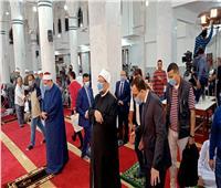 وزير الأوقاف ومحافظ الإسماعيلية يفتتحان مسجد «المطافى»
