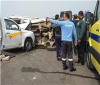 إصابة 8 عمال ومزارعين في حادثين بالشرقية