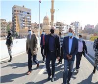 جولة تفقدية لمحافظ بني سويف في شوارع المحافظة