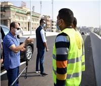 الرئيس السيسي يتفقد المحاور والكباري الجديدة بالقاهرة والجيزة| صور