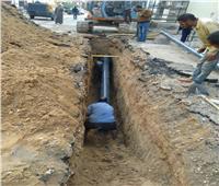 «مياه القناة» انتهاء أعمال الإصلاح بمنطقة الهبوط الأرضي بالإسماعيلية