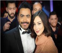 طلاق تامر حسني وبسمة بوسيل
