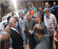 كارثة تهدد سكان شارع محمد صلاح.. وهروب الأهالي  فيديو