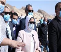 وزيرة الصحة تتفقد وحدة طب أسرة أبو زنيمة بتكلفة 25 مليون جنيه
