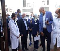 إقبال كبير ببورسعيد على فعاليات اليوم العالمى للسكر