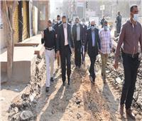 خطة لرصف شوارع منيا القمح بتكلفة 20 مليون جنيه