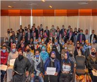 وزير القوى العاملة ومحافظ الإسكندرية يسلمان 88 عقد عمل لذوي القدرات الخاصة