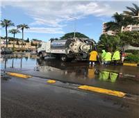«مياه الإسكندرية»: استمرار تمركز سيارات ومعدات الشفط تحسبا لأي طارئ