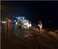 إصابة شخصين بحادث تصادم في أسوان