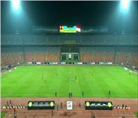 انطلاق الشوط الثاني من مباراة مصر وتوجو