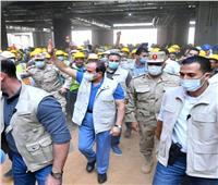 بعد تفقده مدينة الألعاب الأوليمبية.. الرئيس السيسي يوجه التحية لعمال مصر
