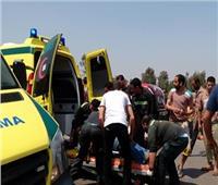 إصابة 3 أمناء شرطة في انقلاب سيارة بطريق «سفاجا - الغردقة»