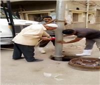 مياه المنوفية: استكمال تطهير شبكات الصرف الصحي لمواجهة فصل الشتاء