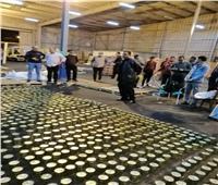 إحباط تهريب 3 مليون قرص «كيبتاجون» بميناء دمياط