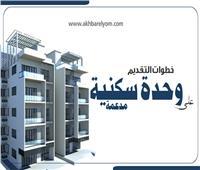 إنفوجراف  خطوات التقديم على وحدة سكنية «مُدعمة»