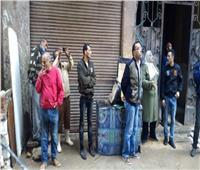 صور| إزالة عقار مخالف مكون من 10 طوابق في الإسكندرية