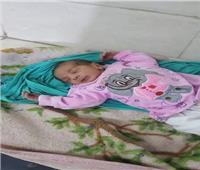 العثور على طفل رضيع بطريق مقابر الدخيلة بالإسكندرية