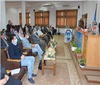 عقد اللقاء الشهري لمكتب المبعوثين بجامعة قناة السويس