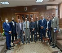 محافظ شمال سيناء يلتقي رئيس قطاع الحسابات بالمديريات المالية