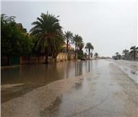 أمطار غزيرة وموجة برد تضرب شمال سيناء