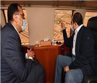 الرئيس السيسي يتفقد مقر قيادة الدولة الاستراتيجي بالعاصمة الإدارية