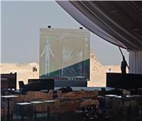 صور وفيديو| أول مسح ضوئي لمومياء على الهواء في سقارة