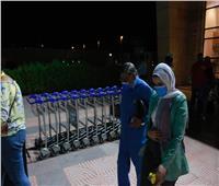مفيد فوزي يصل مهرجان شرم الشيخ الدولي للمسرح الشبابي | صور