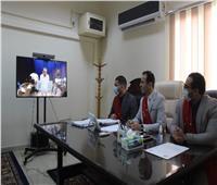 فيديو| «بوابة أخبار اليوم» داخل جلسات التقاضي عن بعد بمحكمة القاهرة الجديدة