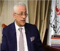 «وزير التعليم» يكشف حقيقة غلق المدارس بسبب الموجة الثانية لـ كورونا