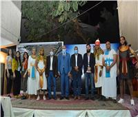 رئيس جامعة الأقصر يشهد حفل استقبال الطلاب الجدد بكلية الفنون الجميلة