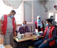 قوافل طبية من الهلال الأحمر لخدمة أهالي قرى وسط سيناء