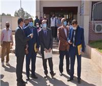 وفد وزارة التخطيط والتنمية الاقتصادية يواصل زياراته الميدانية بالمحافظات