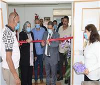 افتتاح مكتب خدمة أسر الشهداء بجامعة القناة