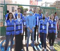 نائب محافظ سوهاج يفتتح دوري مراكز الشباب لكرة القدم