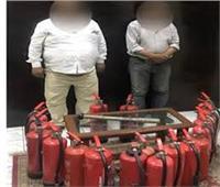 حبس المتهم بسرقة طفايات حريق المترو 4 أيام