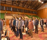 رئيس جامعة أسيوط يشهد مراسم قرعة الحاصلين على 140 وحدة سكنية