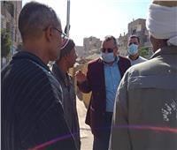 حملات نظافة مكبرة بمدينة أبوقرقاص في المنيا