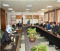 جامعة أسيوط تعلن بدء أعمال لجنتها لمتابعة الإجراءات الإحترازية