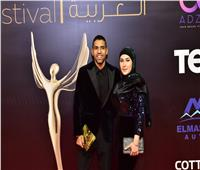 صور وفيديو| مؤمن زكريا يخطف الأنظار بمهرجان الفضائيات العربية
