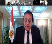 سفارة مصر في أوتاوا تنظم لقاءً تفاعلياً مع وزير التعليم العالي حول الجامعات الأهلية